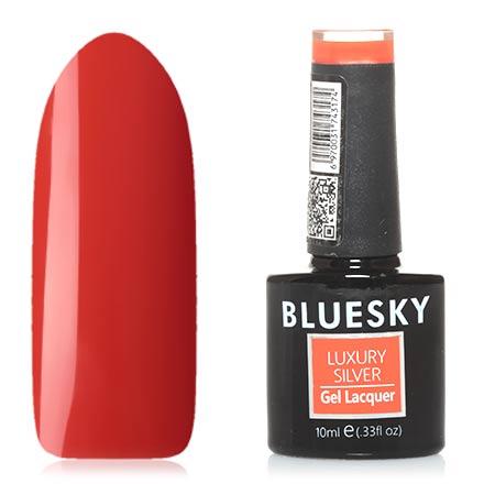 Bluesky, Гель-лак Luxury Silver №252