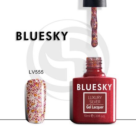 Гель-лак Bluesky Luxury Silver №555