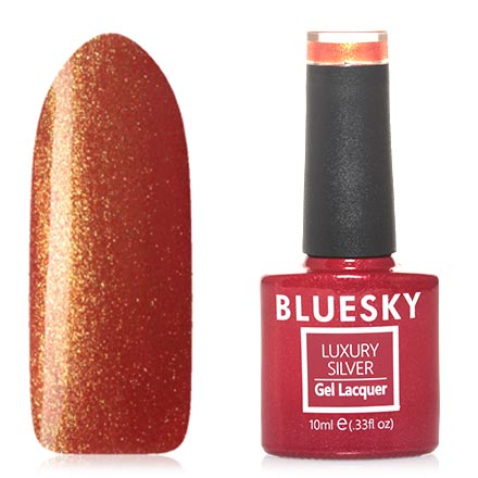 Гель-лак Bluesky Luxury Silver №561