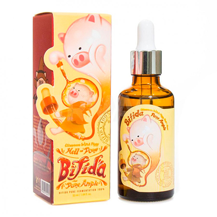 Elizavecca, Сыворотка Milky Piggy Hell-Pore Bifida 100% Pure Ample, 50 мл
