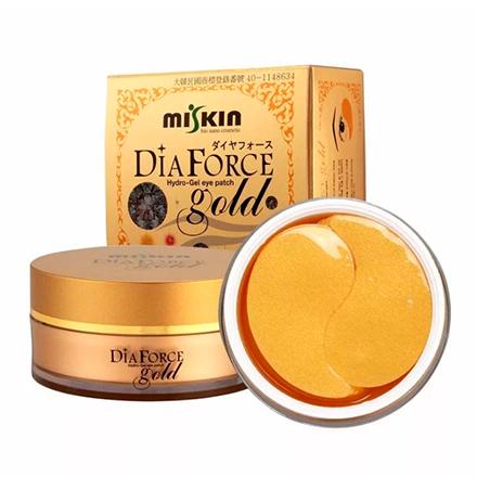 Miskin, Гидрогелевые патчи Gold Dia, 60 шт.