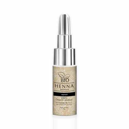 Bio Henna Premium, Хна для бровей, черная (УЦЕНКА)