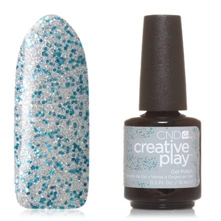 CND, Creative Play Gel №459, Kiss teal