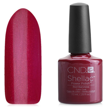 CND, цвет Red Baroness