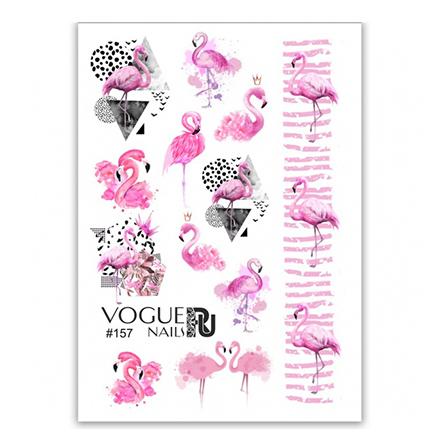 Vogue Nails, Слайдер-дизайн №157