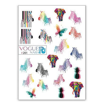 Vogue Nails, Слайдер-дизайн №201