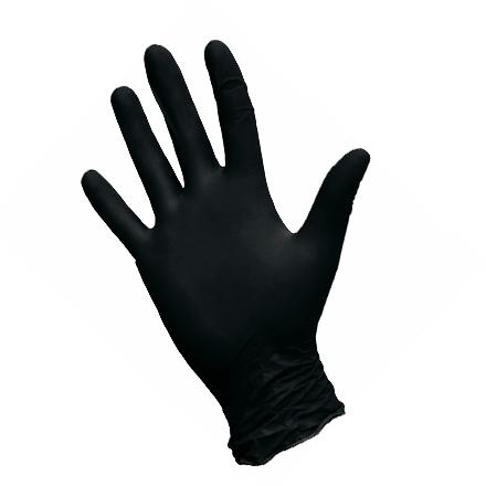 Nitrimax, Перчатки нитриловые черные, размер М, 100 шт.