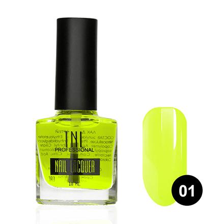 TNL, Краска Aqua Illusion №01, желтая