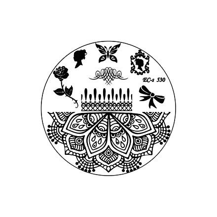 El Corazon, диск для стемпинга № EC-s 530