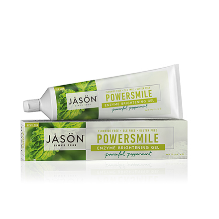 JASON, Гелевая зубная паста Powersmile Enzyme Brightening, 125 г