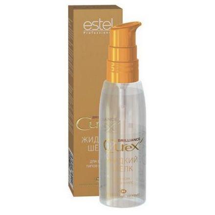 Estel, Жидкий шелк Curex Brilliance для всех типов волос, 100 мл (УЦЕНКА)