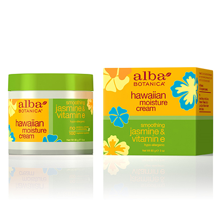 Alba Botanica, Крем для лица Hawaiian Jasmine&Vitamin E, 85 г