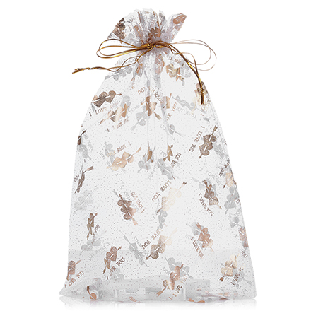 Подарочный мешочек из органзы 18*30 см