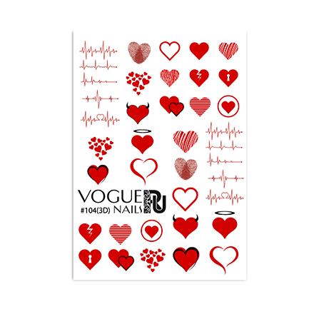 Vogue Nails, 3D-Слайдер №104
