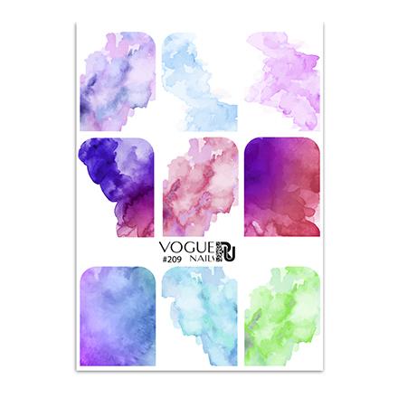 Vogue Nails, Слайдер-дизайн №209