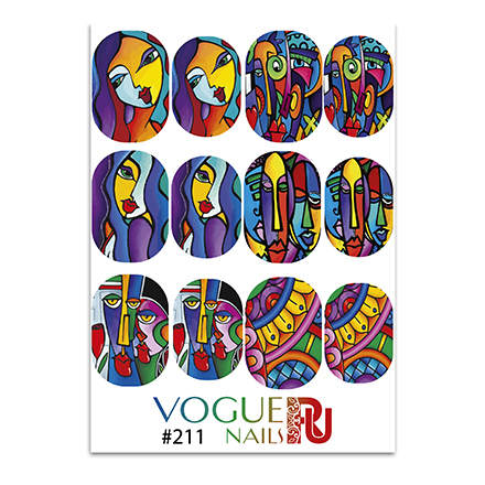 Vogue Nails, Слайдер-дизайн №211