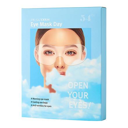 DR.GLODERM, Дневная маска для глаз Open your eyes, 10 шт.