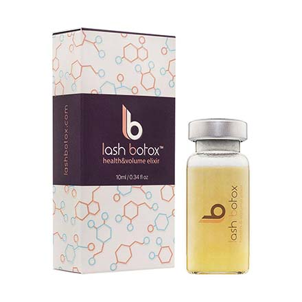 Lash Botox, Ботокс для ресниц Health and Volume Elixir, 10 мл