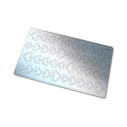 Freedecor, Металлизированные наклейки №108, серебро