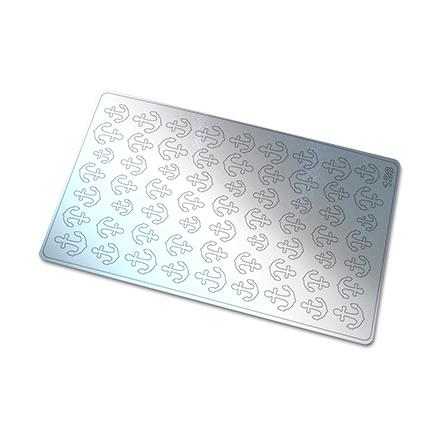 Freedecor, Металлизированные наклейки №128, серебро