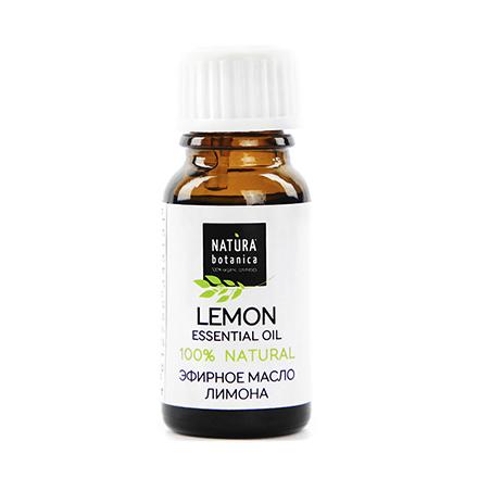 Natura Botanica, Эфирное масло лимона, 10 мл