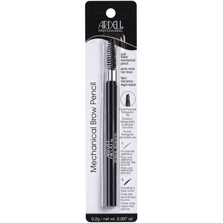Ardell, Карандаш для бровей водостойкий, Mechanical Pencil Soft Black