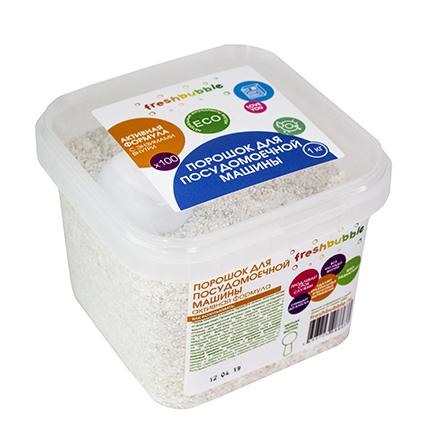Freshbubble, Порошок для посудомоечной машины, активная формула, 1000 г
