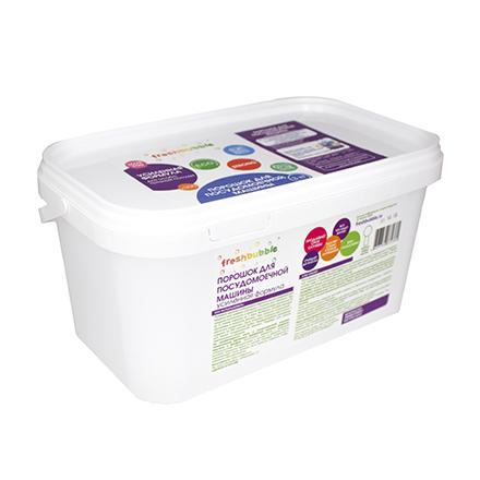 Freshbubble, Порошок для посудомоечной машины, усиленная формула, 3000 г
