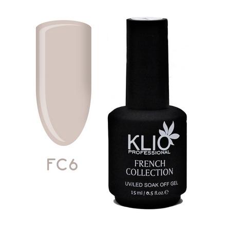 Klio Professional, Гель-лак French Collection №6
