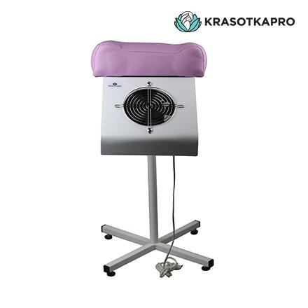KrasotkaPro, Пылесос для педикюра с подставкой, розовый, 65W