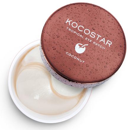 Kocostar, Гидрогелевые патчи для глаз Tropical, кокос, 30 пар