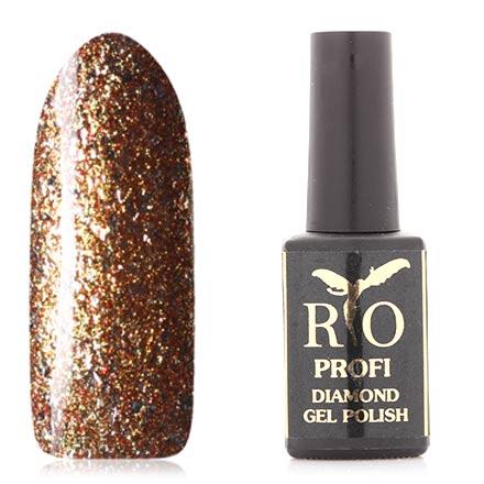 Rio Profi, Гель-лак Diamond №3, Золотой слиток