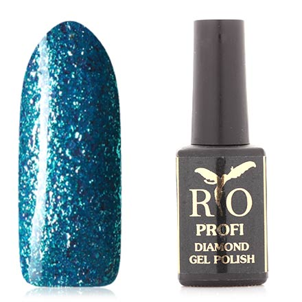 Rio Profi, Гель-лак Diamond №5, Лазурное сияние
