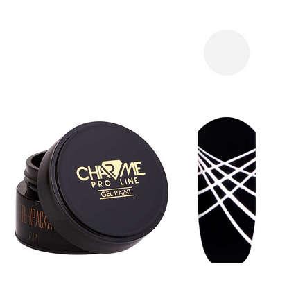CHARME Pro Line, Гель-краска «Геометрия» №11, белая