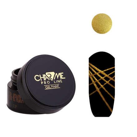 CHARME Pro Line, Гель-краска «Геометрия» №13, золотая