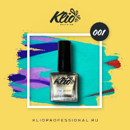Klio Professional, Лак для стемпинга №1