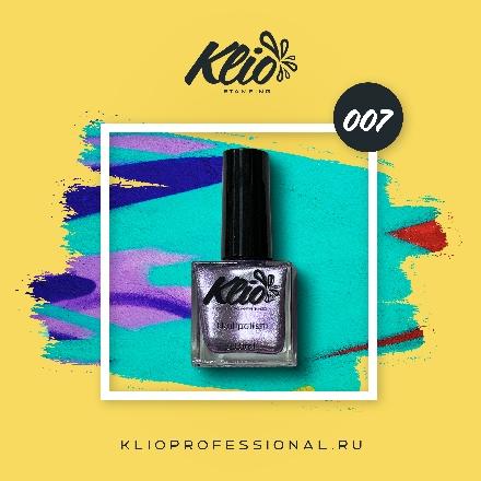 Klio Professional, Лак для стемпинга №7