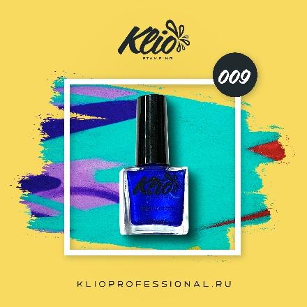 Klio Professional, Лак для стемпинга №9
