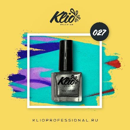 Klio Professional, Лак для стемпинга №27