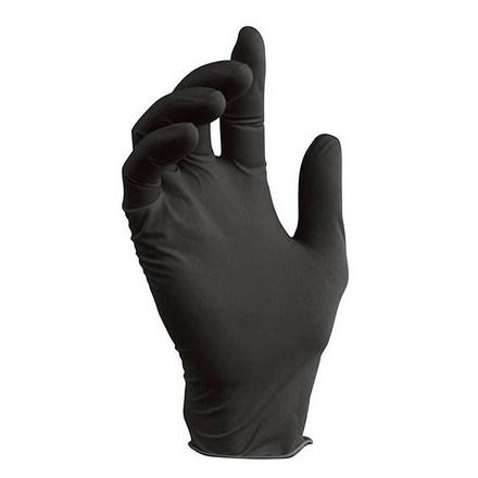 Nitrile, Перчатки нитриловые черные, размер M, 100 шт.