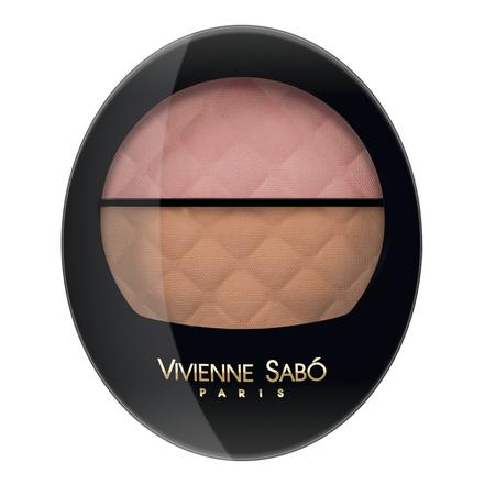 Vivienne Sabo, Румяна двойные Teinte Delicate, тон 13