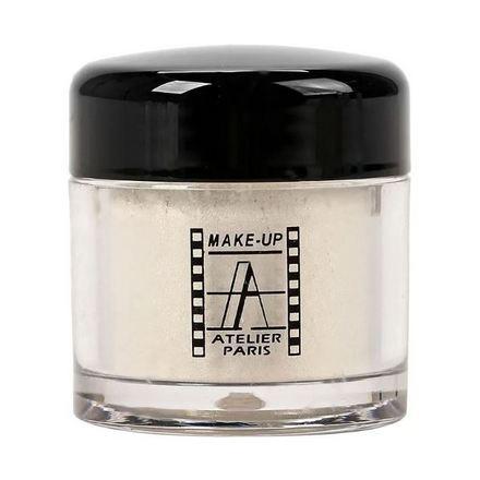 Make-up Atelier Paris, Сияющий пигмент, бело-оранжевый