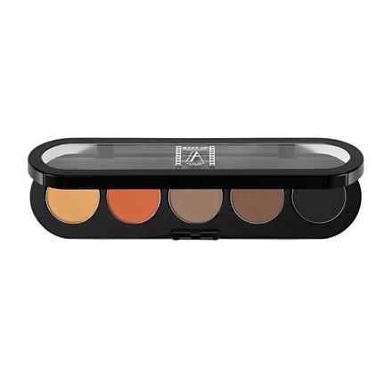 Make-up Atelier Paris, Палетка компактных подводок для глаз, натуральная