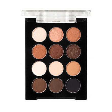 Make-up Atelier Paris, Палитра теней для глаз, 12 цветов, телесная гамма