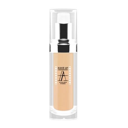 Make-up Atelier Paris, Тон-флюид водостойкий, тон 2B, 30 мл