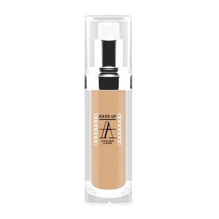 Make-up Atelier Paris, Тон-флюид водостойкий, тон 2Y, 30 мл