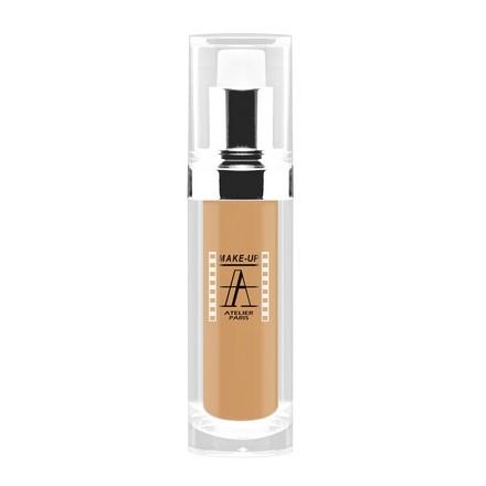 Make-up Atelier Paris, Тон-флюид водостойкий, тон 3B, 30 мл