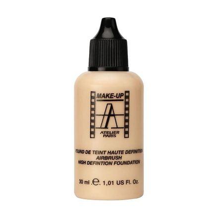 Make-up Atelier Paris, Тон-флюид водостойкий HD, тон 2Y, 30 мл