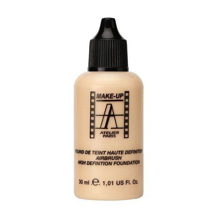 Make-up Atelier Paris, Тон-флюид водостойкий HD, тон 3NВ, 30 мл