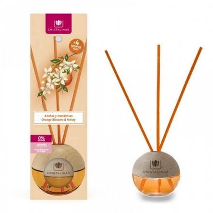 Cristalinas, Аромадиффузор с запахом цветущего апельсина и мандарина, 40 мл